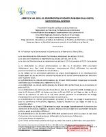 PLUI – Arrêté Enq. Pub CCVPO