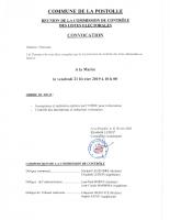 Convocation commission contrôle LE