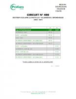 Circuit 498 – Primaire – Maternelle