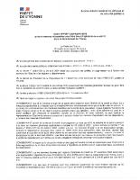 Arrêté 0918 du 30.11.20 – mesures lutte contre l'épidémie