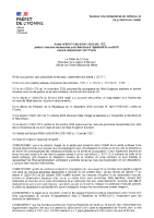 Arrêté 00015 du 15.01.21 – mesures lutte contre l'épidémie