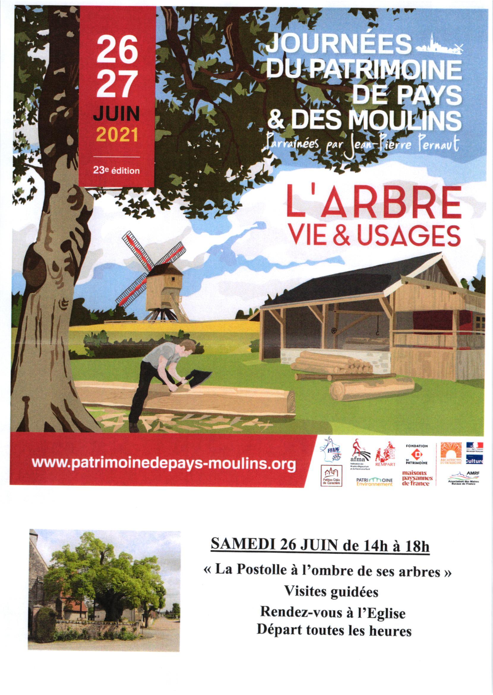 Affiche Journée Patrimoine des Moulins 2021-1